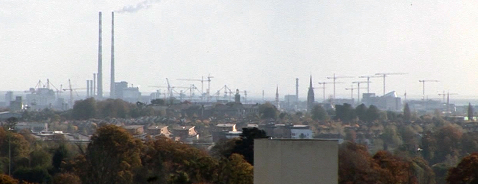 Dublin, the property boom as seen from Blanchardstown