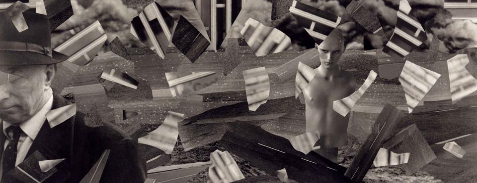 Photomontage, Giclee print.