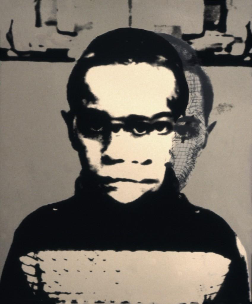 Boy Silkscreen print 1979